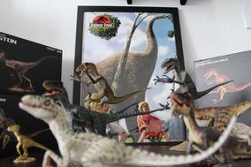 Combo Velociraptor Rebor - Jurassic Park/ Jurassic World