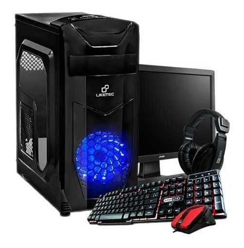 Pc Completo Gamer Imperiums A4 6300, + Brindes + Jogos