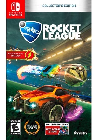 Rocket League Collectors Edition Switch Mídia Física Lacrado