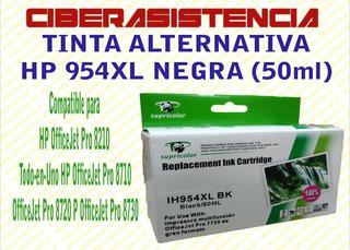 Tinta Alternativa Hp 954xl Negra (50ml)