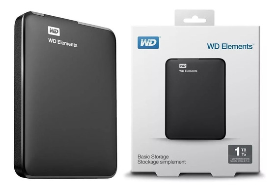 Hd Externo 1tb Western Digital Wd Pc Tv Xbox Ps4 One Mac
