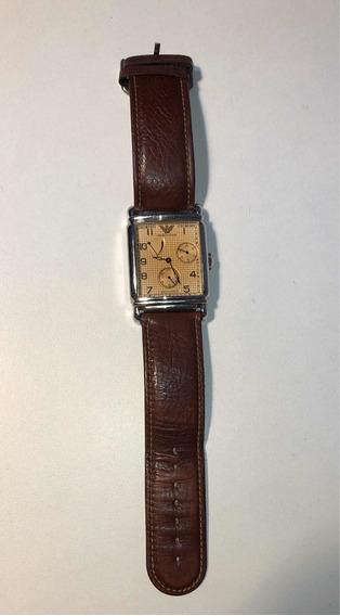 Emporio Armani Meccanico Mens Designer Watch Usado