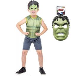 Roupa Hulk Traje Infantil Roupa Criança