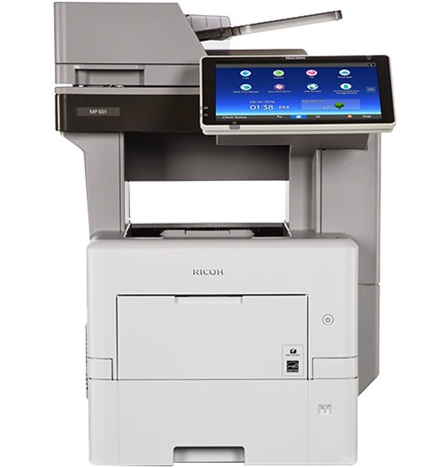 Multifuncional Ricoh Mp 501 Spf Com 16000 Paginas Semi Nova