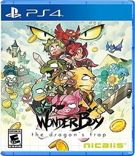Wonder Boy The Dragons Trap Fisico Nuevo Ps4 Dakmor