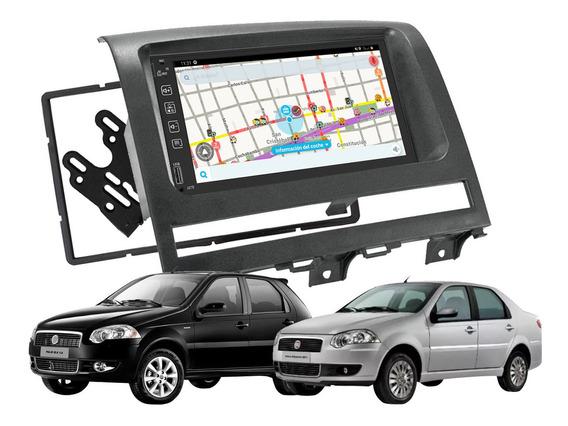 Stereo P/ Fiat Siena Palio Strada Espejo Gps Pantalla Tactil