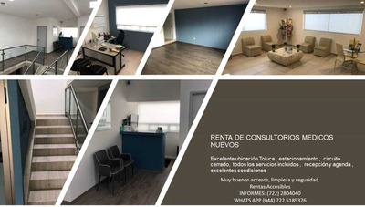 Renta De Consultorios Medicos. Zona Centrica