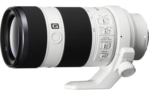Lente Sony Fe 70-200mm F/4 G Oss E-mount (sel70200g)