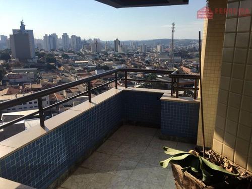 Apartamento De 3 Dormitórios, Suíte, 2 Vagas Cobertas. Peliciari, Vila Progresso, Jundiaí-sp. - Ap0119