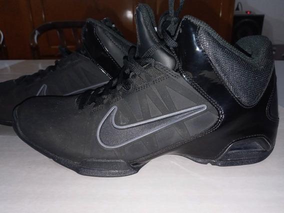 Nike Air Visi Pro 4 Negras Talle 9 Usa. Nuevas De Miami