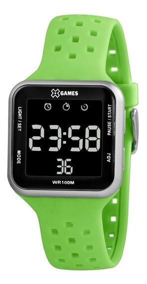 Relógio X-games Masculino Digital Xgppd124 Pxex Verde
