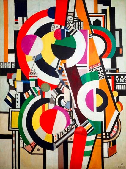 Poster Grande Foto Hd Fernand Léger 60x80cm Obra Os Discos