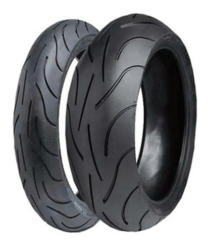 Par Pneu 120/70-17+180/55-17 Michelin Pilot Power Filtro K&n
