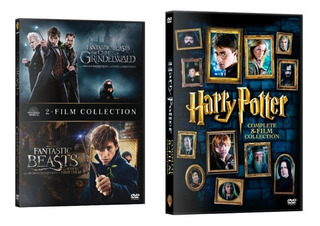 Harry Potter + Fantastic Beast ,dvd,latino