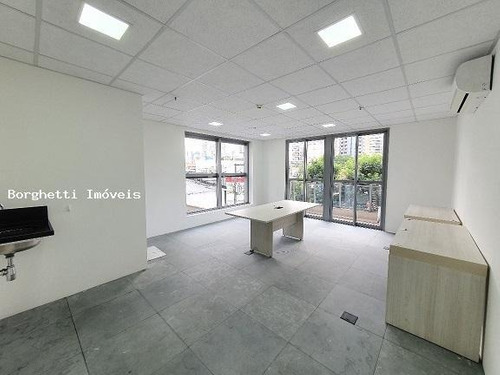 Sala Comercial Para Locação Em São Paulo, Brooklin, 1 Banheiro, 1 Vaga - 011_2-1153559