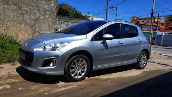 Peugeot 308 1.6 16v Prata Completo