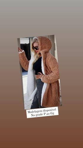 Imagem 1 de 1 de Modelagem Casaco Teddy