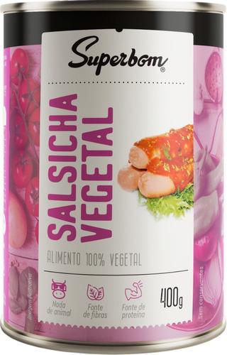 Salsicha Vegetal 400g