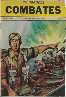 1977 Hq Quadrinhos Os Grandes Combates Nº 11 Editora Signo