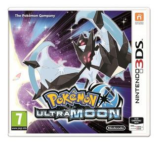 Videojuego Pokemon Ultra Moon Nintendo 3ds