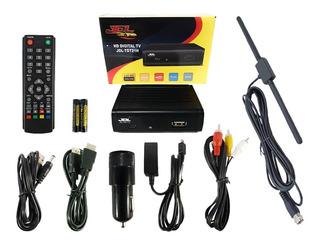 Nuevo Tdt Digital Para Carro Dvb-t2 12v Full Señal