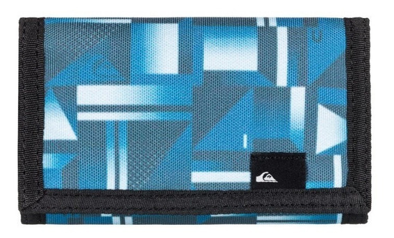 Quiksilver Billetera Hombre The Everydaily Azul - Negro