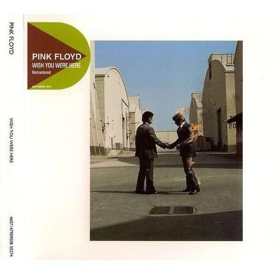 Cd - Pink Floyd - Wish You Were Here - Original / Seminovo