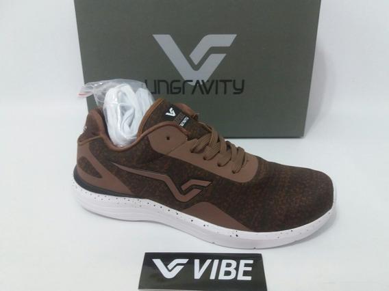 Tênis Vibe Shoes Empire Marrom Original