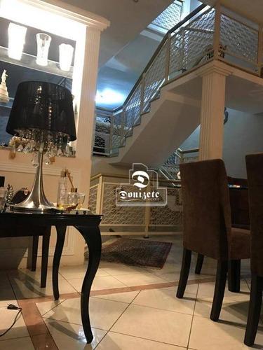 Sobrado Com 4 Dormitórios À Venda, 400 M² Por R$ 1.500.000,00 - Vila Alpina - Santo André/sp - So0045