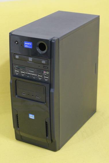 Gabinete P/ Computador De Mesa Com Dvd Leitor De Cartão Usb
