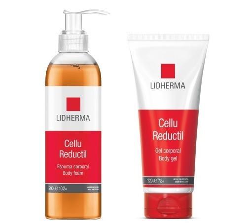 Kit Cellu Reductil Lidherma - Gel Y Espuma Corporal