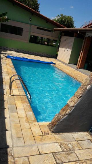 Casa No Ninho Verde 2, 3 Quartos Sendo 1 Suíte, Piscina E Churrasqueira - 4060041