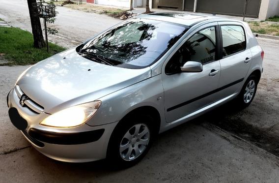 Peugeot 307 Xt Premium Motor 2.0 Gris Plata Oportunidad