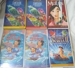 Fita Vhs Desenho Disney Avulsas Complete Sua Coleção Escolha