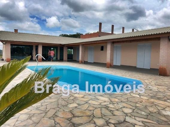 Chac.planinha - 1.250m² - 3 Dorms (1suite) - Piscina - Show