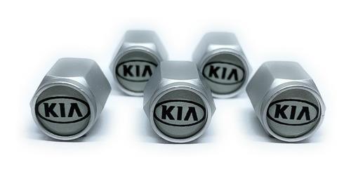 Tapa Valvulas Para Neumatico Emblema Kia