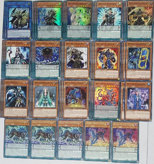 Set / Deck Endymion Besta Mítica / Mythical Beast Yugioh!!!
