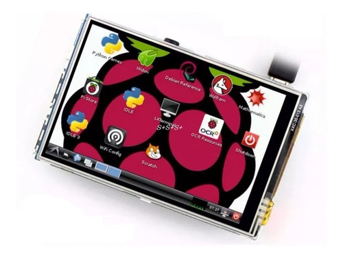 Imagen 1 de 1 de Pantalla Tactil 3.5 Pulgadas Raspberry Pi B 2 3 Touch Screen