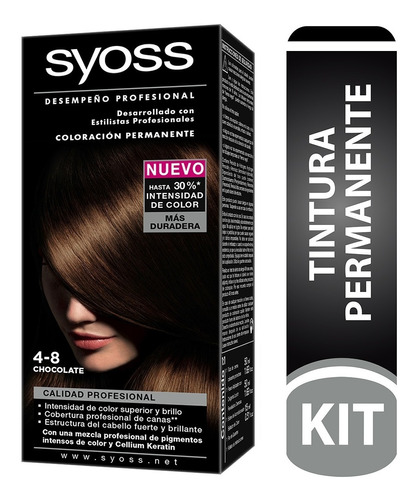 Tinte Cabello Syoss Permanente