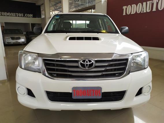 Toyota Hilux 2.5 Diesel D/c Año 2014 Color Blanco