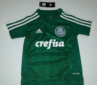 Camiseta Infantil Do Palmeiras Original adidas - 01
