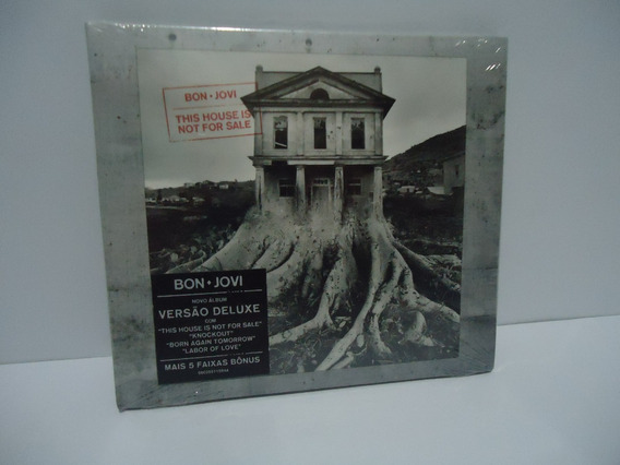 Cd Bom Jovi This House Is Not For Sale Versão Deluxe Lacrado
