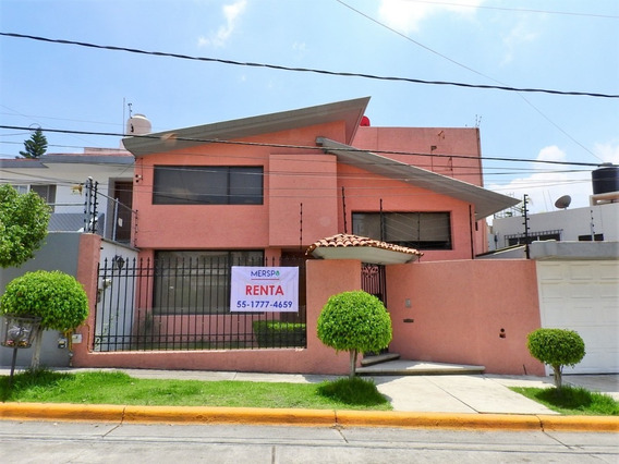 Casa En Renta Ciudad Satélite Naucalpan