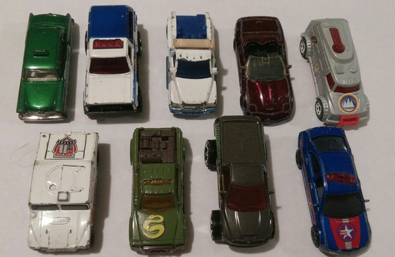 Matchbox. 9 Autos Coleccionables.