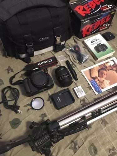 Equipamento Fotografico Completo Canon T3i Em Mos 600 00