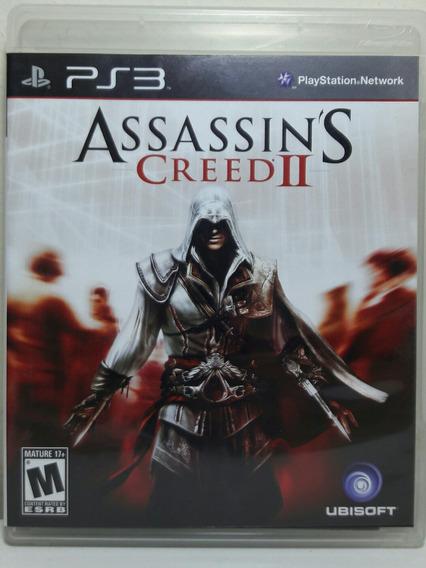 Jogo De Ps3 Assassins Creed 2 Em Mídia Física.