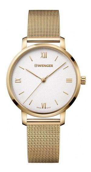 Relógio Feminino Suíco Wenger Metropolitan Donnissima C/nf