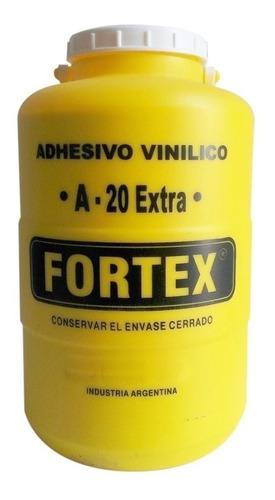 Adhesivo Vinilico / Cola Vinilica Fortex A-20 X 6 Kg H Tuyu