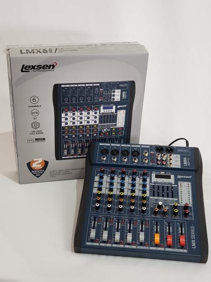 Lançamento Mesa Lexsen Lmx6 Original Com 2 Anos De Garantia