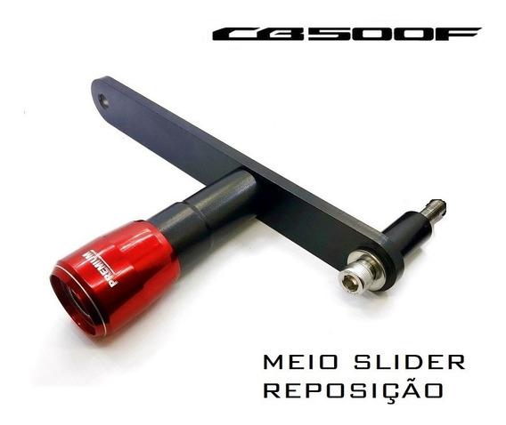 Slider Protetor Motor Premium Racing Honda Cb500f Reposição